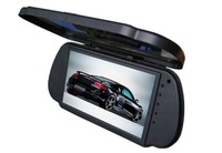 "Free Shipping!!7"" LCD Color Car Rear View Reverse Mirror Monitor High Resolution 800x480"