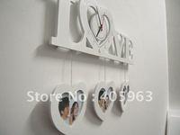 Free shippinbg hot love style alarm clock,digital decoration clock dropship