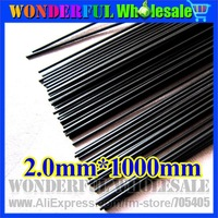 2mm*1000MM Carbon fiber rods/carbon stick/DIY model accessories