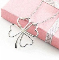 Sunshine jewelry store fashion clover necklaces & pendants x219 ( $10 free shipping )