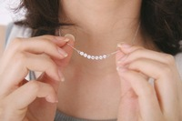 Sunshine store jewelry wholesale small gems necklace  a02126  hot selling !!!x218( $10 free shipping )