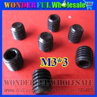 M3*3 Imported 12.9 Hexagon headless screws Hex screw