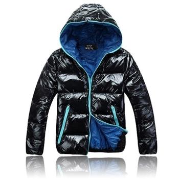 2013 winter fashion outerwear cotton-padded jacket male cotton-padded jacket men's clothing casual lovers wadded jacket