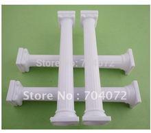 -free Retail transporte pilares decorativa Design Bolo 4 Branco 13 cm de altura Artes e Artesanato(China (Mainland))
