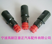 free shipping high Quality car cigarette lighter plug  merit and universal model both suitable 5pcs/lot