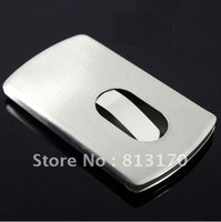 Free shipping hot sale high quality stainless steel card holder for business gift(2pcs/lot)