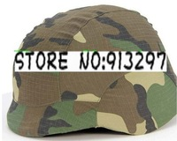 Tactical Airsoft M88 Helmet Cloth Cover Woodland Camo