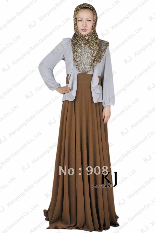 Abaya muslim long dress jilbab abaya picture in islamic clothing from