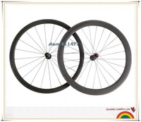 Hot Professional 700c road carbon wheel rim 38mm depth With Novatec A271SB F372SB
