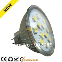 NEW! Factory direct! YG-SA124/8 MR16 LED Spot Light AC/DC12V 2w 12SMD 5050