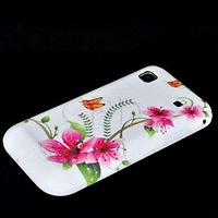 Flower TPU Silicone Back Cover Case Skin For Samsung Galaxy S Plus i9001 New