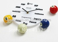 Math Program wall Clock(acrylic)