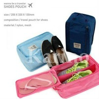 Free Shipping Whole Sale Organizer Shoes Pouch, Waterproof Traveling Bags