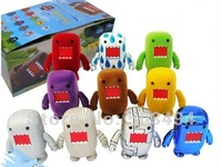 "Free shipping Domo Kun 2"" PVC Cartoon Figures toy Wholesale and Retail (10 pcs/set)"