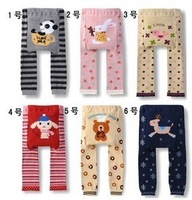 Freeshipping! Animal style big PP pants infant children trousers big ass pants legging spring and autumn trousers