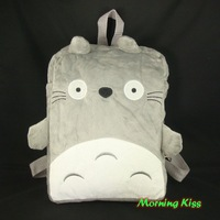 "New Lovely My neighbor totoro Plush Doll Backpack School Bag Case 11"" LM-FMS-A51"