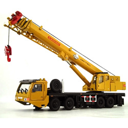Big discount Alloy engineering car full alloy crane heavy construction crane model Promotional Sales Car Toy(China (Mainland))
