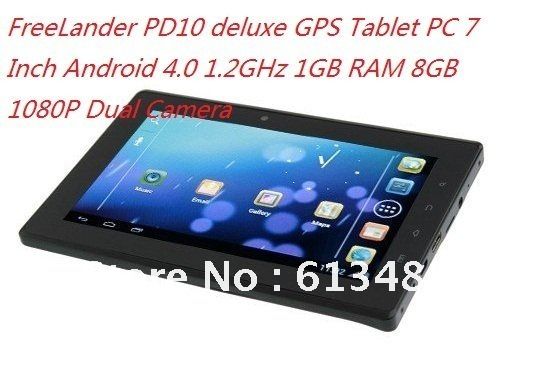 FreeLander PD10 4PDdeluxe GPS Tablet PC 7 Inch Android 4.0 1.2GHz 1GB
