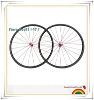 Hot Professional 700c road bike tubular wheel 24mm road UD matte With Novatec A291SB F482SB shimano carbon wheels