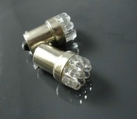 FREE SHIP EMS DHL 1156 9 LED WHITE Indicator TAIL or STOP bulbs BA15S  Light DC 12V
