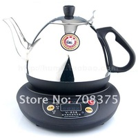 Stainless Steel 220V 1200W 1.0L Electric Kettle Tea kettles Electric tea Free shipping