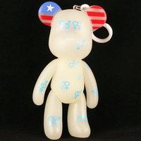 Momo bear popobe 5 luminous violence bear meiqi blue doll bear