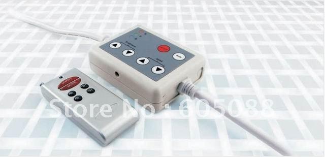 6 key led rgb wireless rf controller DC12v 144w,string light controller ,rope light controller,DHL free shipping!(China (Mainland))
