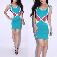 2012 bandage dress maxi dress pictures of girls without dress blue tights skirts spandex one piece skirts for women201751