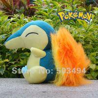 "Pokemon 6"" Banpresto Soft Plush High quality Doll New Cindaquil Free shipping"