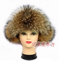hot sale hot sale high quality Fashion fox fur lei feng cap fur hat cold thermal raccoon fur snow cap winter hat