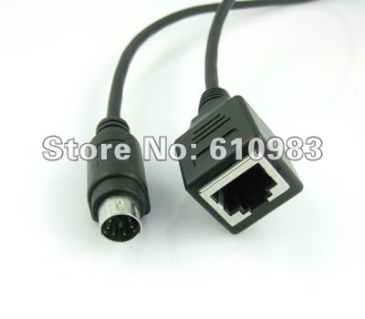 Ethernet Ethernet Connector on Ethernet Lan Rj45 Network Connector To Ps2 Male Plug Adapter Connector