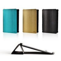 ROCK Light& Cool quality leather Case for for Samsung Galaxy Tab 2 10.1 P5100 P5100 multifunction cover  free ship