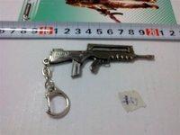 C198 free shipping12 pcs/lot CF model keychains gun keychains new style fashion keychain CS model gun keychains mens' keychain