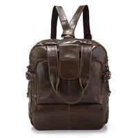 New Vintage Leather Men's Travel Backpack Handbag Messenger Bag,M59