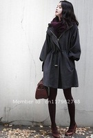 2011 NEW LADY'S HOT SALE KOREA FASHION WOOLEN COAT  / Free Shipping