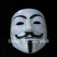 V for Vendetta Party Face Mask Halloween Mask Super Scary cool mask