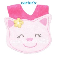 EMS free shipping carter's Carter modeling the bib / stereo saliva towel / cotton bib / baby bib /Kitten pattern