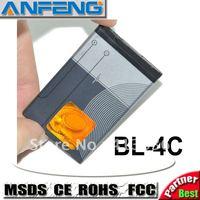 AA battery Genuine 700mAh battery BL-4C for Nokia C2-05 bateria batterij batteri AKKU ACCU10pcs free shipping