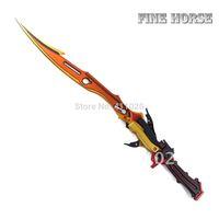 Final Fantasy XIII : Lightning Gunblade Flamberge Sword Form Cosplay Weapon