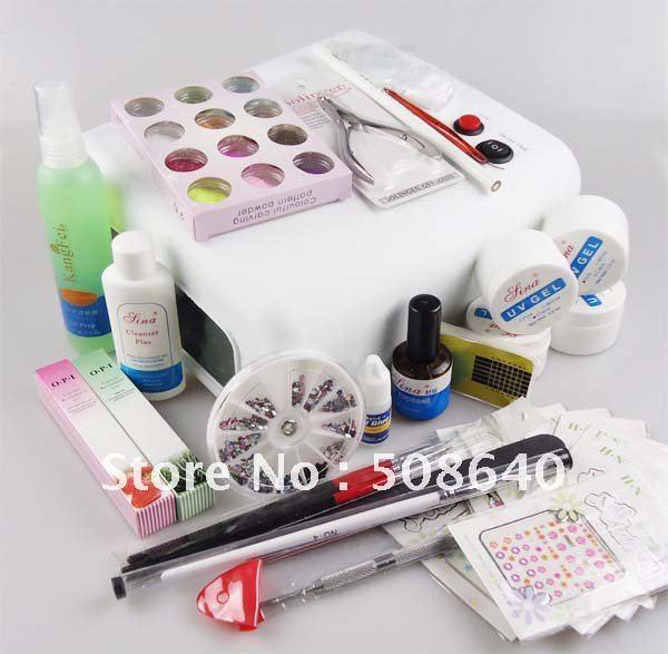 Gel Nail Kit Promotion-Online Shopping for Promotional Uv Gel Nail Kit