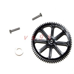 HCW sky king 521 527 521A 527A rc helicopter spare parts Main Gear A Free shopping(China (Mainland))