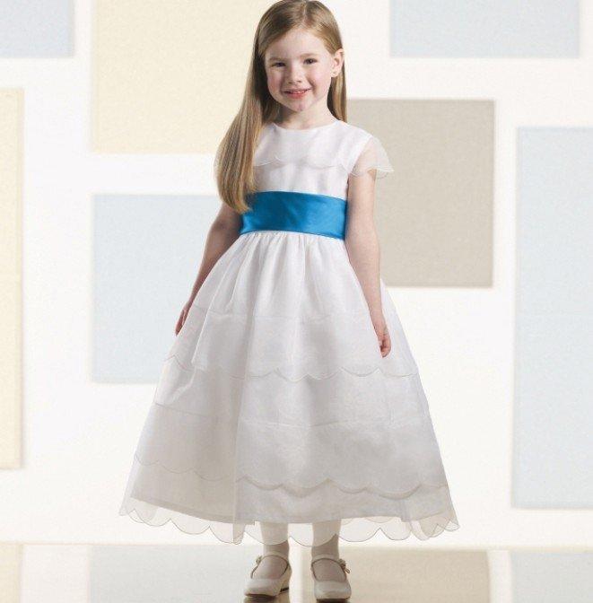 Fashion arrivals new stylish children frock design 2013
