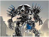 DECOOL BRAND hero factory Assembling toys building blocks with high Devil Star Wars 2+1 VON NEBULA,Free shipping