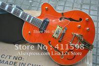 G6120W 1957 Chet Atkins Hollow Body Orange electric guitar HOT SALE