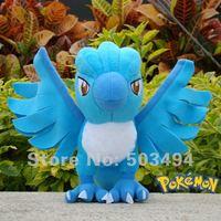 "free shipping Pokemon Plush Toy Articuno 6.5"" Cute Soft Stuffed blue bird Animal Doll Kid"