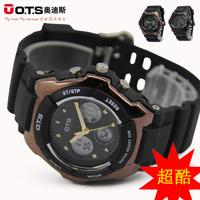 Ots AUDI multifunctional sports table electronic watch male waterproof fashion led watch