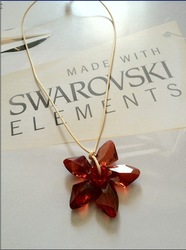 2012 Promotion Flash Deal Swa Flower Crystal Pendant(only 1 pc in stock)(China (Mainland))