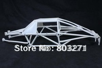 Free Shipping- NYLON Roll Cage for Baja 5T/5SC Parts,White/Black