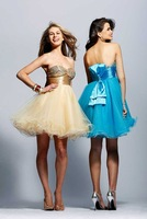 Free shipping  Clarisse Short Dresses 9031 Wedding Dresses Evening/Prom/Homecoming Quinceanera Dresses