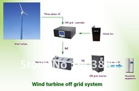 10KW wind turbine off grid system,including generator,controller,dump box,inverter,tower,CE,ISO,16 group Patents,high quanlity